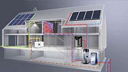 Il sistema fv con pompa di calore per l 39 acqua calda for Impianto fotovoltaico con pompa di calore prezzi