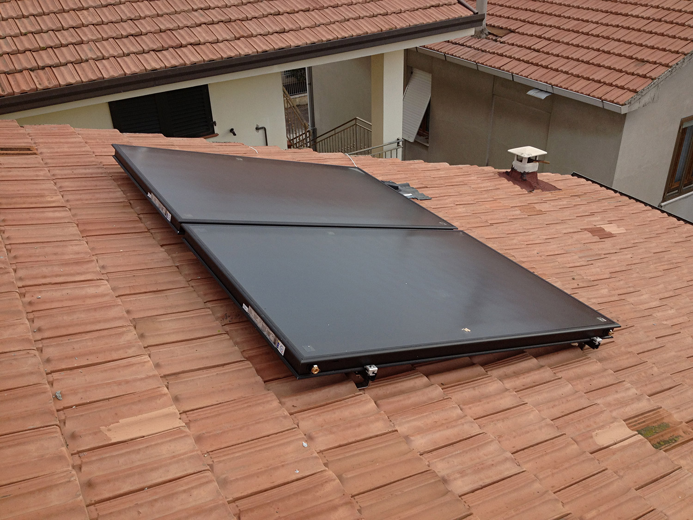 Pannello Solare Termico A Svuotamento : Solare termico porto potenza impianti installati