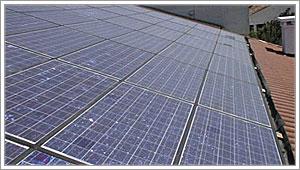 Pannelli fotovoltaici integrati nel tetto